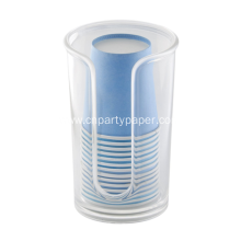 Acrylic Disposable Paper Cup Dispenser for Countertops