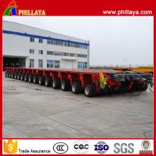 16 Reihen 32 Hydraulische Schwenkachsen 400 Tonnen Modular Trailer