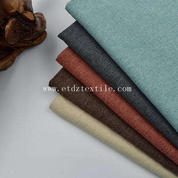 soft handfeel fabric for sofa in 100% polyester