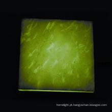 Telha de assoalho do diodo emissor de luz com superfície de mármore