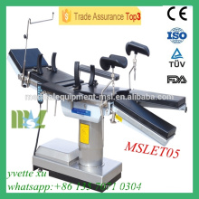 MSLET05M 2016 Newest Operating Table High tech Electric hydraulic operating table