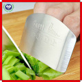 Stainless Steel Finger Hand Protector Guard Chop Safe Slice Knife Kitchen Tool Finger Guard