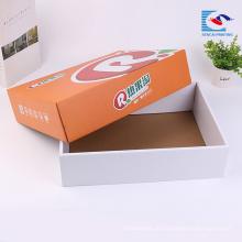 Amostra grátis personalizado cor cheia de frutas caixas de presente de embalagem de papelão ondulado