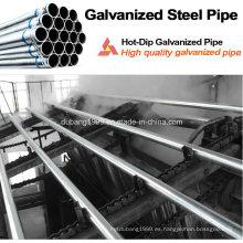 Tubería de acero galvanizada / Tubo de acero galvanizado / Conducto galvanizado / Zn recubierto-84