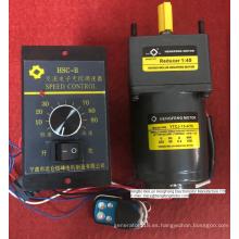 Motorreductor de CA de inducción con control remoto