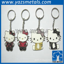 Porte-clés Hello Kitty Enamel