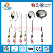 Portable stainless Steel Spoon fork Suit , decorative spoon and fork