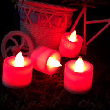 Flameless wedding LED tealight candles