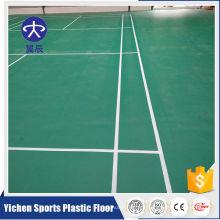 Organische und 100% reine PVC-Virgin-Rohstoffe Indoor-Kunststoff-Bodenbelag hoher Qualität