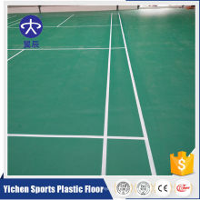 Organic and 100% pure PVC virgin raw materials indoor plastic flooring high quality