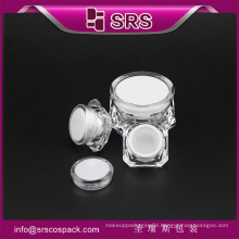 SRS plastic high quality cosmetic container ,skincare jar