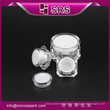 SRS plástico de alta qualidade recipiente de cosméticos, frasco de skincare