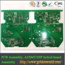 PCB FR4 6layer con ranuras fresadas placa de dvr pcb de buena calidad
