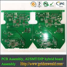 FR4 6layer pcb avec des rainures fraisées bonne qualité dvr carte PCB