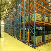 Estanterías rotativas de almacenamiento certificadas ISO9001, CE y AS4084, en movimiento