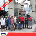 Famous SBM brand limestone powder making machine, gypsum clinker plant