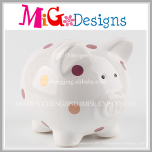 Low Price Made in Ceramic Coin Money Box