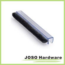 Tira de selos de escova de varredura de porta de chuveiro de vidro (SG233)