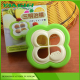 enjoy DIY sandwich making Clover sandwich cutter