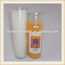 glass religious candles