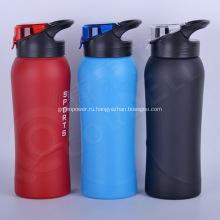 Промо 900 мл печатных нержавеющей спортивные бутылки