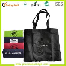 Reusable Foldable Non Woven Shopping Bag with Velcro (PRA-848)