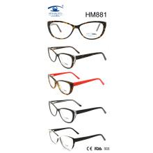Handmade Colorful Cat Fashion Frame Acetate Eyeglasses (HM881)