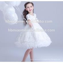 Nouvelle mode occidentale porter la robe de fille de 3-5 ans pour la partie et le mariage