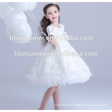 New fashion western wear 3-5 year old girl dress for party and wedding