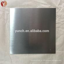 nova folha de titânio superfície design brilhante com certificado BV