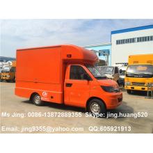 Karry 4x2 mini caminhão móvel da loja, carro móvel das lojas para a venda