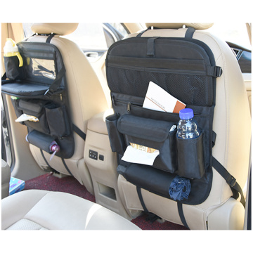 Multi-Pocket Standard Car Seat Back Organizer Bag