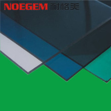 Cheapest Factory for Fireproof PC Plastic Sheet Colorful PC polycarbonate plastic sheet export to France Factories