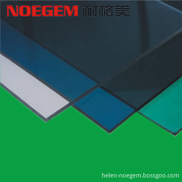 Colorful Pc Polycarbonate Plastic