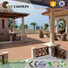 Revestimento exterior da varanda madeira wpc barato decking board China manufactuers / fornecedores / fábrica
