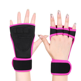 Non-Stuffy Design Weightlifting Gloves