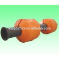 Anti-Wellen-MDPE Kunststoff Schwimmer und Abdeckungen für Gummischlauch / Drainagerohr