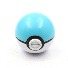 2020 two-layer super pokeball round shape smoke grinder