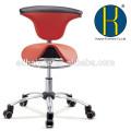 Высокое качество красочные школа стул /круглое сидение исследование стул стали стул