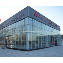 Vehicle Stores Double Glass Curtain Wall Systems