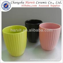 Petits moules de fleurs à petite fleur / moules à fleurs intérieures et supports et assiettes et soucoupe / pot de fleurs en relief