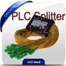 Diviseur optique de coupleur de PLC de 32 manières
