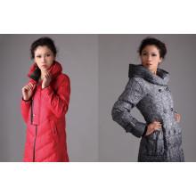 Frauen Winter lange Daunenjacke Dicker warmer Export