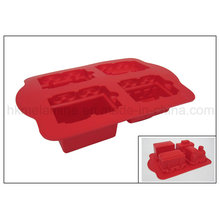 Locomotive Shaped Silicone Cake Mold (RS01)