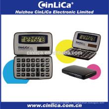 JS-8H calculatrice à usage général calculatrice portable noir