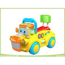 Elektronische musikalische Fahrt auf Spielzeug für Baby
