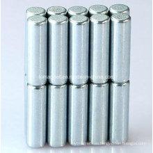 Imán permanente de tierra rara Neodymium N35 D3X10mm