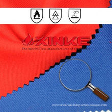 flame retardant cotton/polyester fabric cvc 60/40 for garment