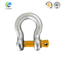 Adjustable screw pin anchor shackle