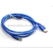 USB 1.8M 6 FT cable de datos de extensión para escáner de código de barras Cable de conexión para Canon epson